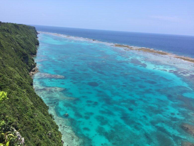 伊良部島の三角点からの風景