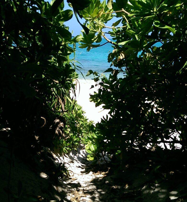 来間島オススの長間浜ビーチ
