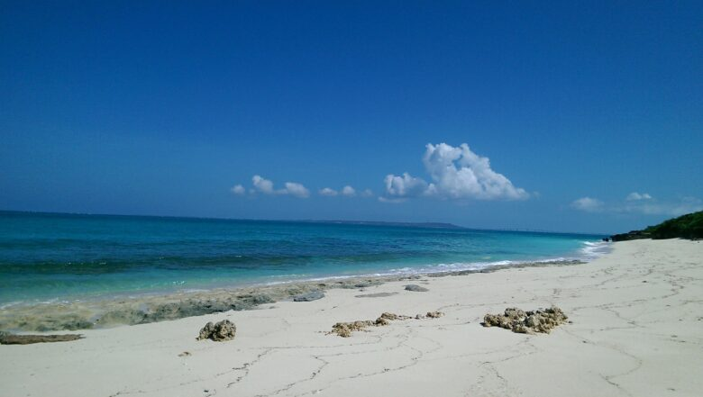 来間島おススメ長間浜ビーチ