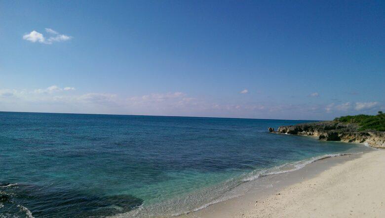 来間島のムスヌン浜