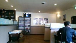 Rainbow Cafeの店内