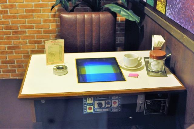 ゲーム喫茶のゲーム卓