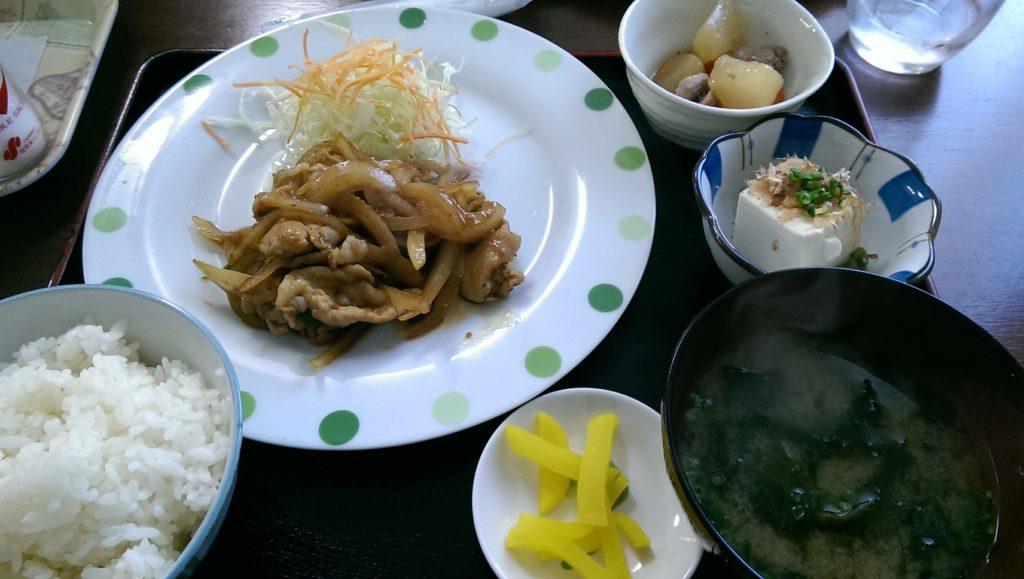 日替わり焼肉定食