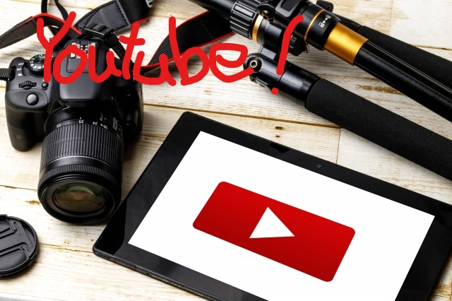 youtube開設!