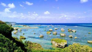 東平安名崎からの景色