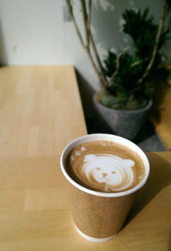 ensemblecoffeeのカフェラテ