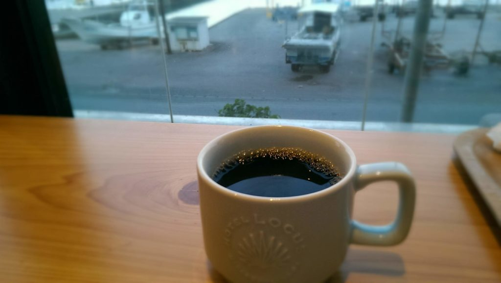 ローカスのオリジナルコーヒー